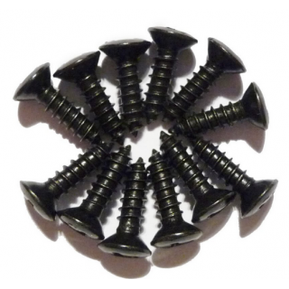 BLACK SCRATCHPLATE SCREWS